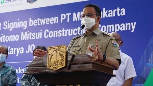 Anies Apresiasi Presiden Jokowi Atas Dukungan Terhadap Pembangunan Transportasi Massal di Jakarta