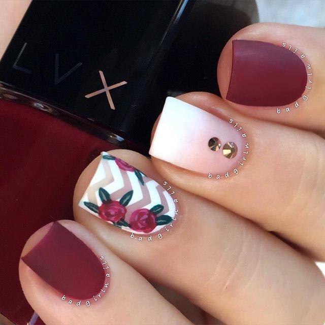 Pretty and Trendy Nail Art Designs 2016 . | Fashionte