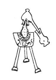 The Still Of Democritus From Greek Alchemical Manuscript, Alchemical Apparatus