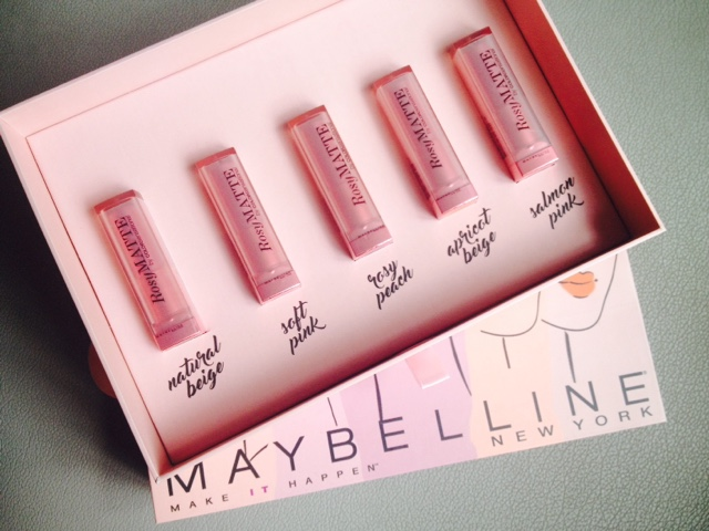 Maybelline Rosy Matte Lipsticks