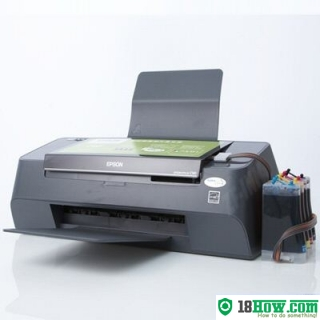 How to Reset Epson C95 laser printer – Reset flashing lights error