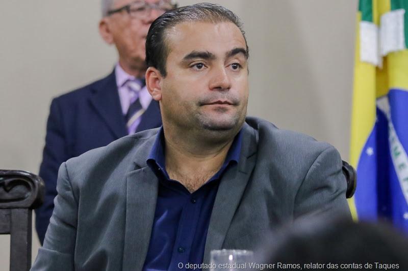 O deputado estadual Wagner Ramos, relator das contas de Taques