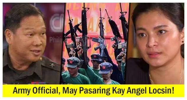 Angel Locsin, May Hindi Sinasabi Tungkol kay Ka Ella Colmenares ayon kay Army Lt. General Parlade