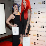 WWW.ENTSIMAGES.COM -    Jasz Vegas - BBCs Killer Magic  and  Cervena Fox at      Stephen Handisides My Face My Body Awards at The Royal Garden Hotel London November 1st 2014                                                 Photo Mobis Photos/OIC 0203 174 1069