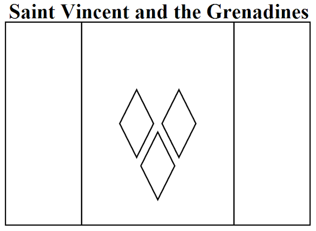 Geography Blog Saint Vincent And The Grenadines Flag