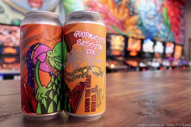 Down The Road Releasing GoopMassta Session IPA Cans 3/23