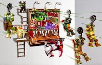 Teenage Mutant Ninja Turtles Z Line Ninja Deluxe Zipline Playset - Billboard Breakout