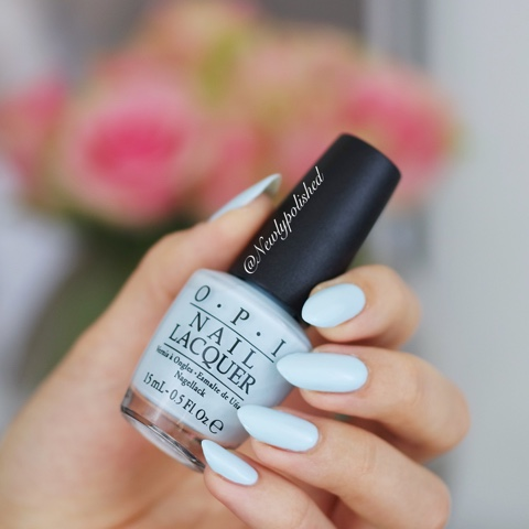 OPI It's a boy! Soft Shades Pastels 2016