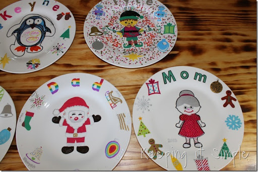 DIY-Personalized-Christmas-Dinner-Plates (13) & Christmas Family Tradition- DIY Personalized Christmas Dinner Plates ...