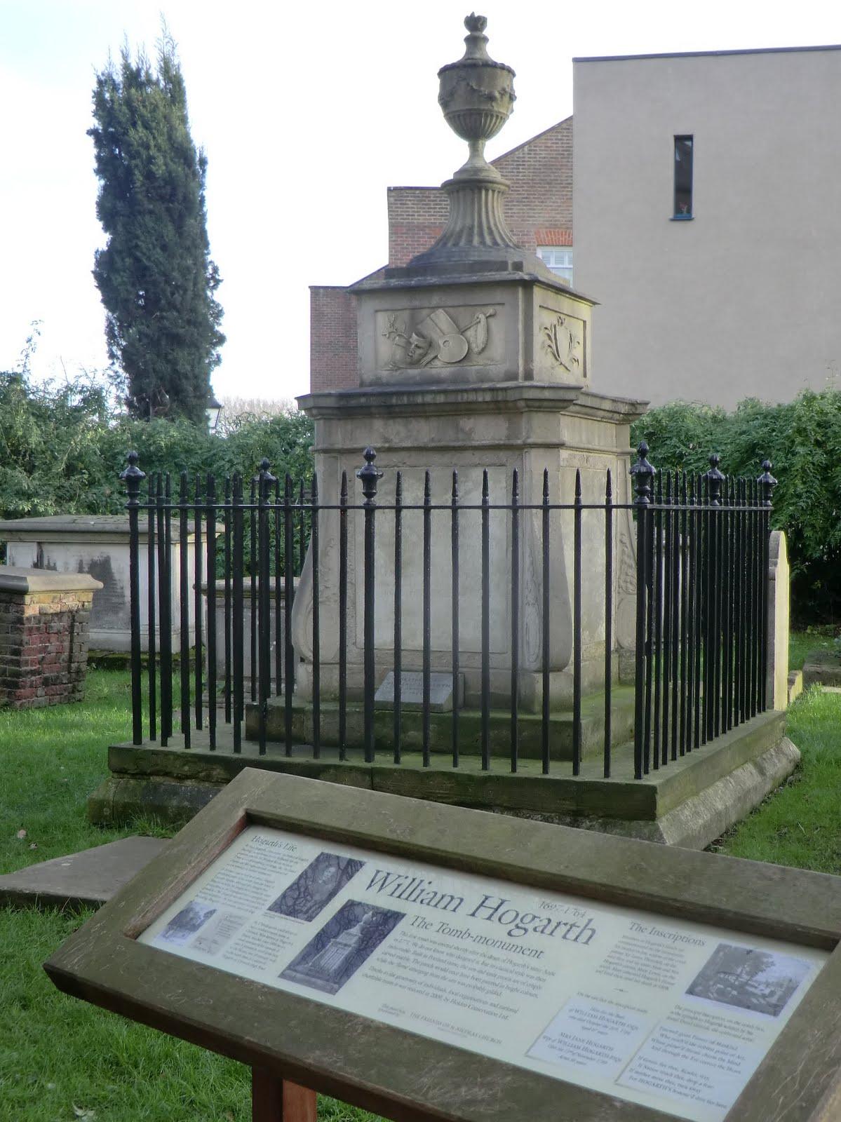 CIMG2165 William Hogarth Tomb-Monument, Chiswick church
