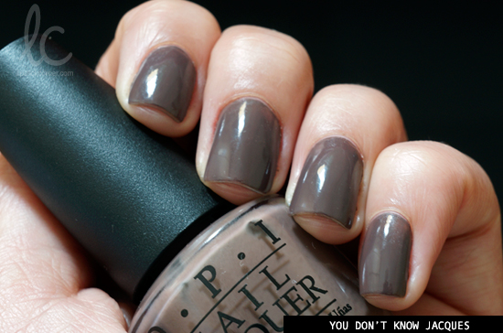 Esmalte da Semana: You Don't Know Jacques