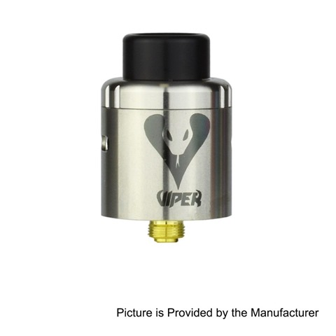 authentic-vapjoy-viper-bf-rda-rebuildable-dripping-atomizer-w-squonk-pin-silver-aluminum-ss-24mm-diameter