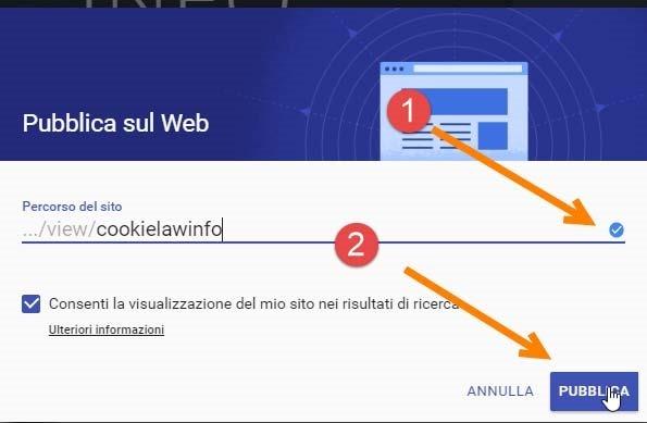 pubblicare-siti-google-sites