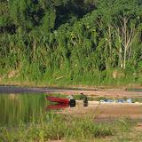 Sur le Rio Quiquibey dans la Reserva de Biosfera de Pilón Lajas (Beni, Bolivie), 28 octobre 2012. Photo : C. Basset