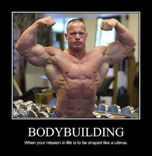 bodybuilder uterus