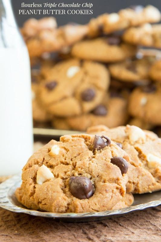 Flourless-Triple-Chocolate-Chip-Peanut-Butter-Cookies-recipe-4693-title