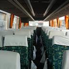 Het interier van de Volvo Jonkhere van Bovo Tours bus 271