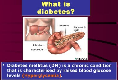 مفهوم مرض السكري pdf
