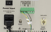 ALS装置(写真はモデル2325との設置例)とリンクさせることにより、パソコン上で動作制御することが可能です。