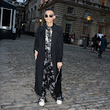 WWW.ENTSIMAGES.COM - Daniel Wong  at     LFW Somerset House London September 14th 2013                                                  Photo Mobis Photos/OIC 0203 174 1069