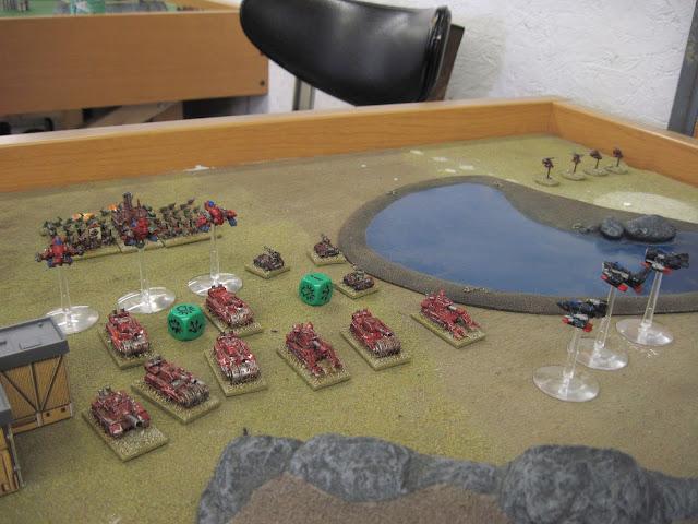 A Blitz Brigade advances under fire.
