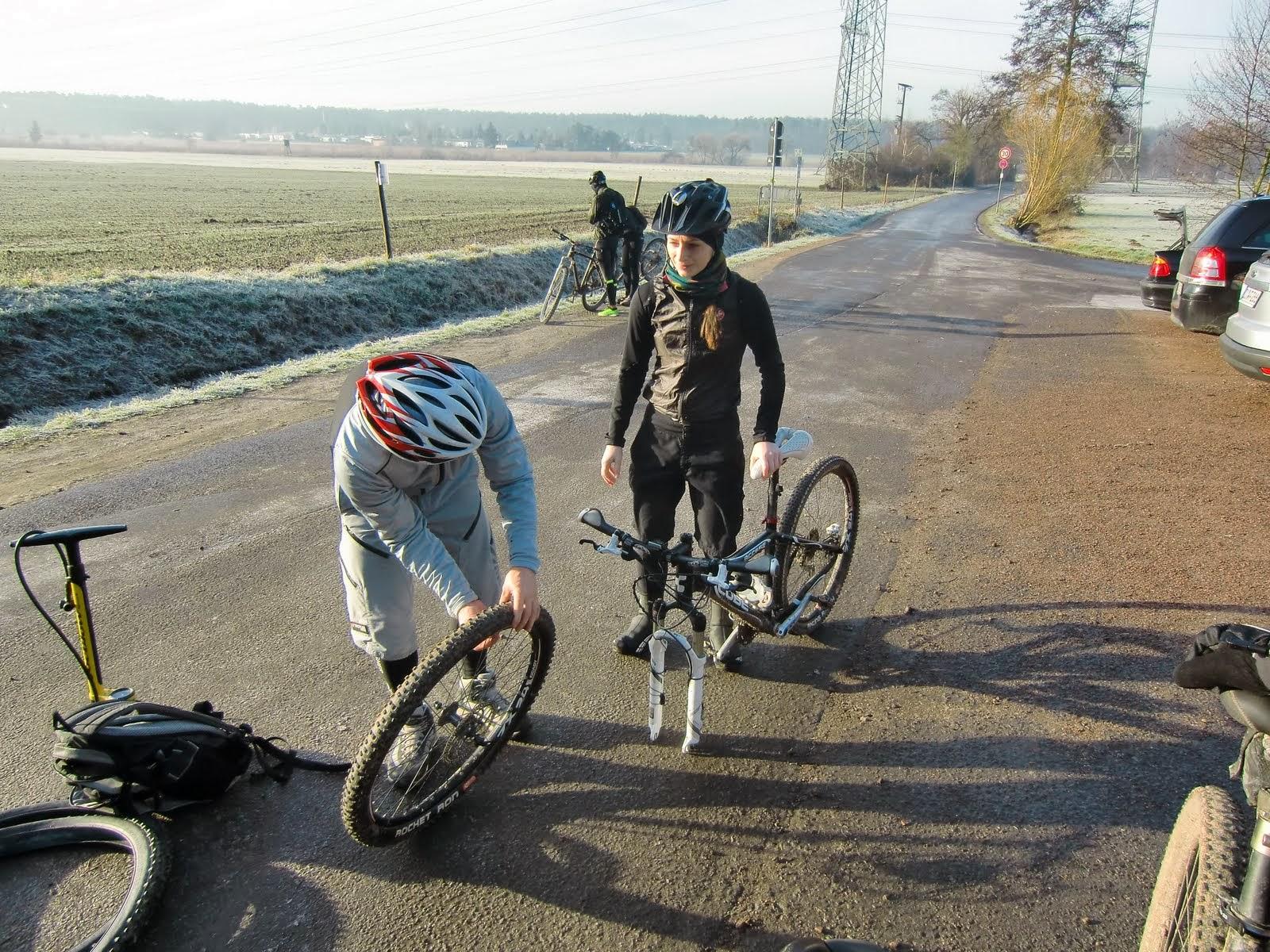 Spessart-Biker (Schlamm-)Tour am 12.01.2014