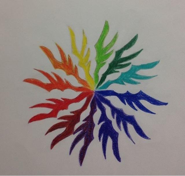 Art Appreciation 2015 16 Creative Color Wheel Project