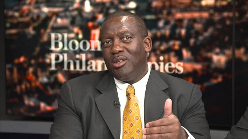 Harith CEO Tshepo Mahloele. Picture: BLOOMBERG