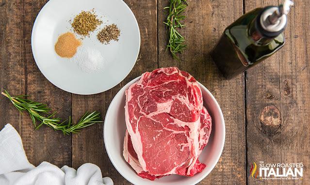 air fryer steak recipe ingredients