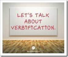 verbification
