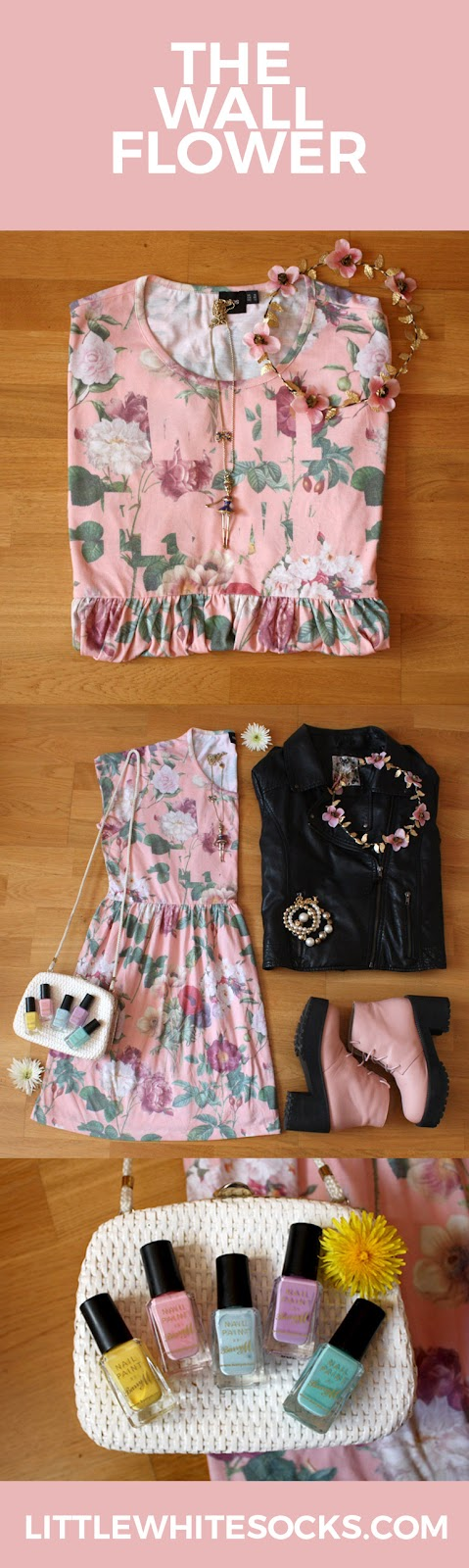 floral smock summer dress outfit