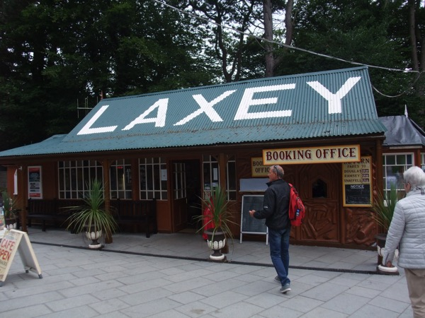 Laxey Booking Office