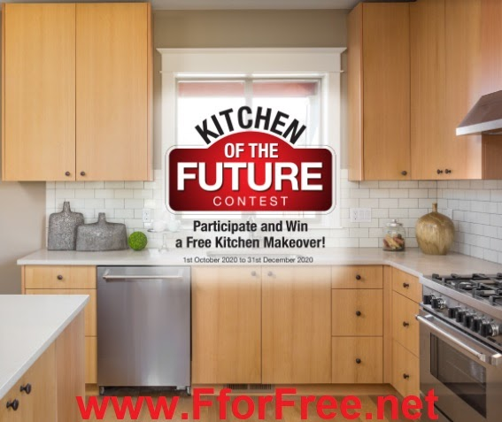 Kitchen Of The Future Contest Win Free Kitchen Makeovers Free Stuff Contests Deals Giveaways Free Samples India