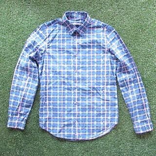Kenzo Warped Plaid Shirt