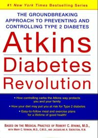 Atkins Diabetes Revolution By Robert C. Atkins M.D.