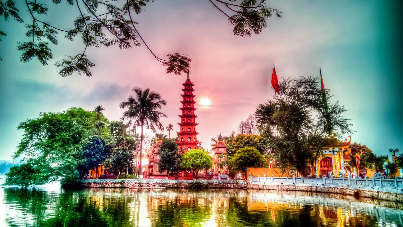 Chùa Trấn Quốc ở Hà Nội