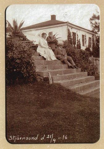 043 Stjernstunds slott i Närke, Albert och Augusta Cassel, ägare från 1898-1951