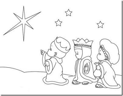 reyes magos jugarycolorear  (1)