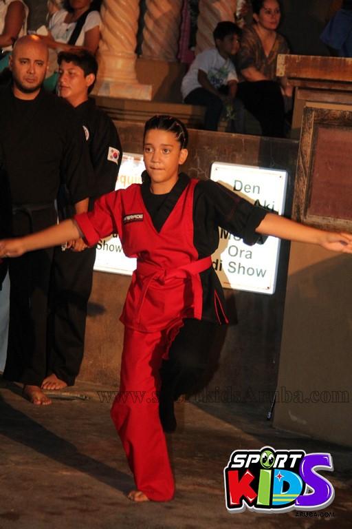 show di nos Reina Infantil di Aruba su carnaval Jaidyleen Tromp den Tang Soo Do - IMG_8692.JPG