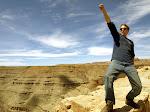 Rockin it over the Goosenecks of the San Juan River, New Mexico
