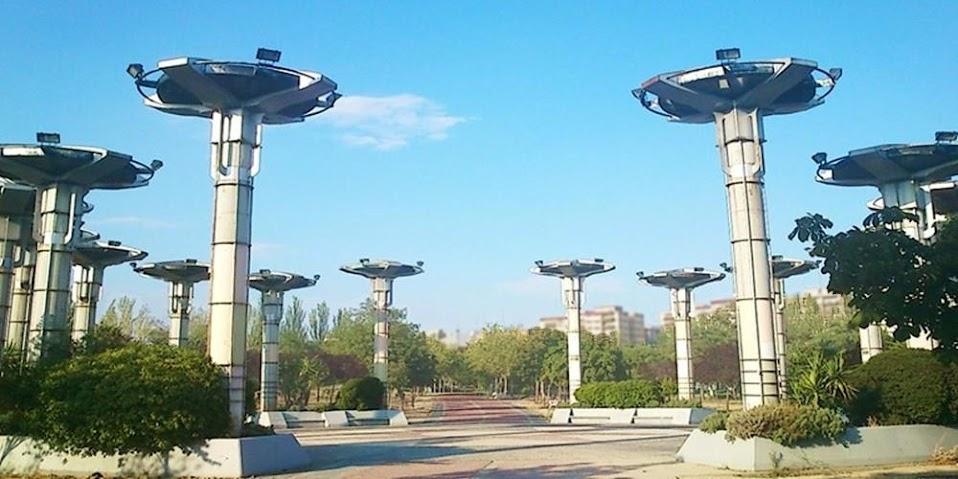 parque de las comunidades . alcorcon – arquitecto . javier toro caviedes
