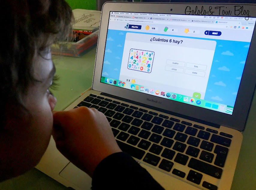 Probando Matematics, el refuerzo escolar de matemáticas de Supertics