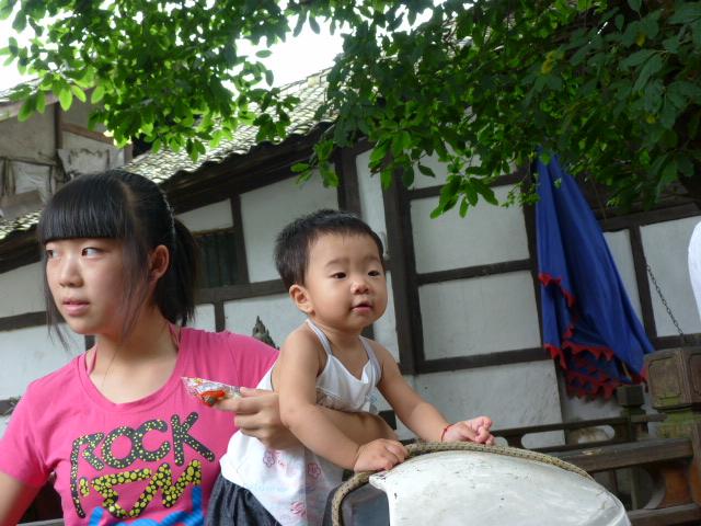 CHINE.SICHUAN.PING LE à 2 heures de Chengdu. Ravissant .Vallée des bambous - P1070510.JPG