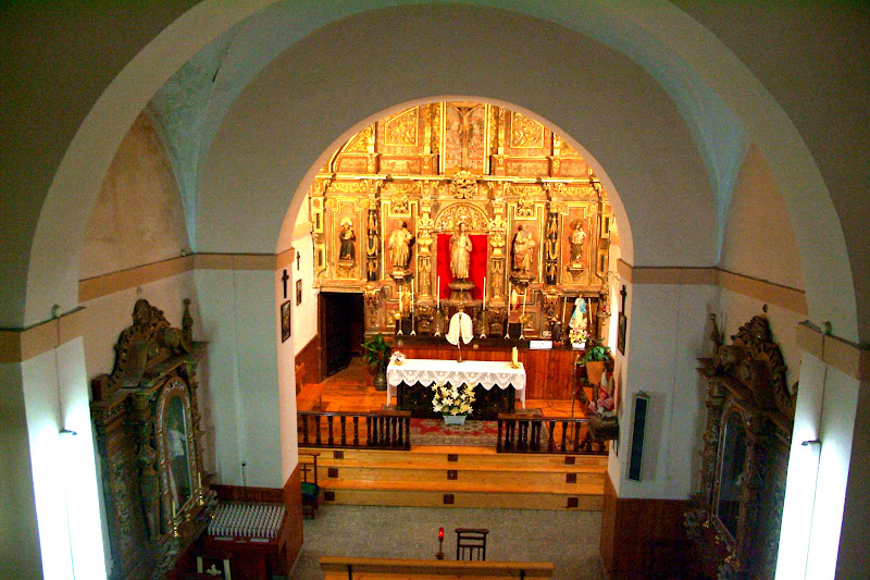 Retablo de la iglesia San Román de Caarabanzo