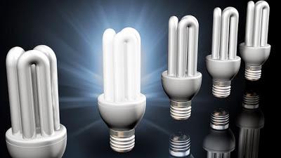 Focos luminosos, bombillos ahorradores de energía
