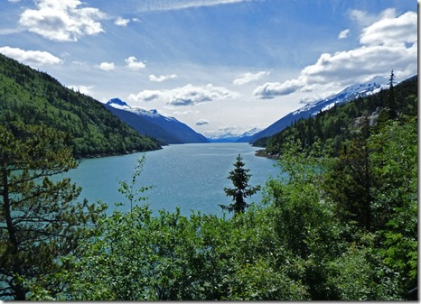 Inlet between Skagway and Dyea Alaska