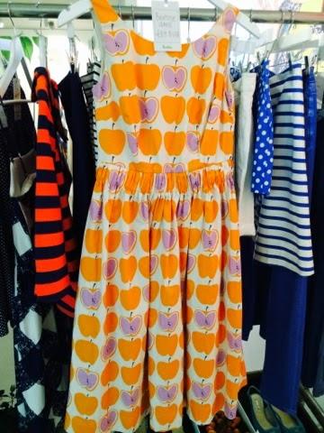 Boden SS15 Press Day Womenswear apple dress