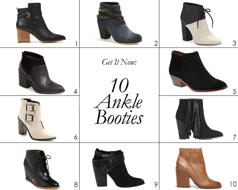 Get It Now: 10 Ankle Booties