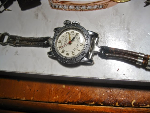 1935 LONGINES WEEMS ORIGINAL 1935 LEATHER METAL ROP STRAP - IMG_1007.JPG