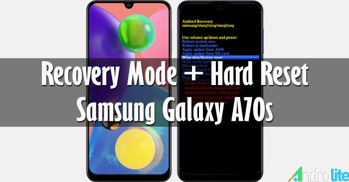 Recovery Mode + Hard Reset Samsung Galaxy A70s